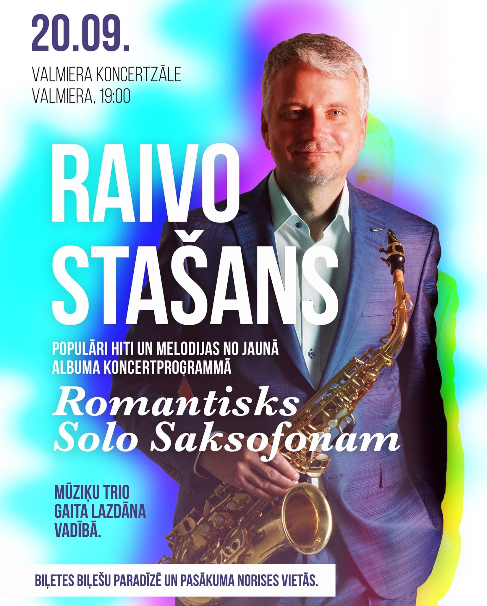 RAIVO STAŠANS / Romantisks solo Saksofonam