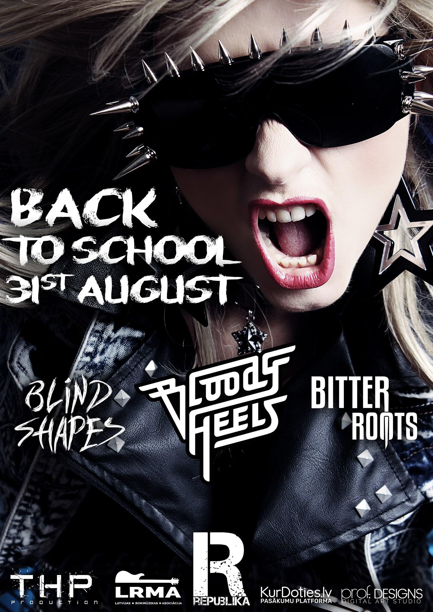 Back To School In Rock Style