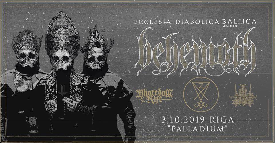 Behemoth / Zeal and Ardor + support
