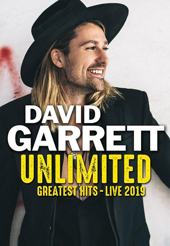 DAVID GARRETT. UNLIMITED – GREATEST HITS – LIVE 2019