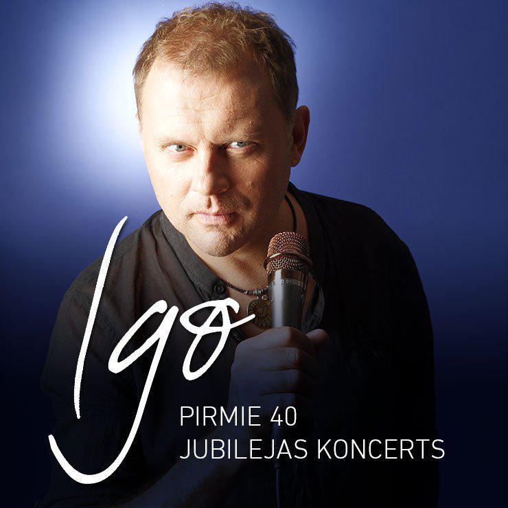 IGO jubilejas koncerts / PIRMIE 40