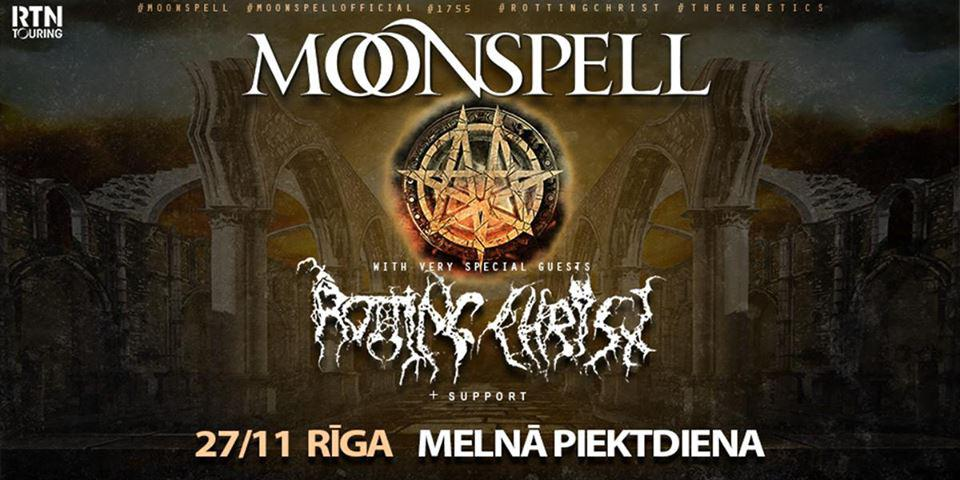 Moonspell (Pt) Rotting Christ
