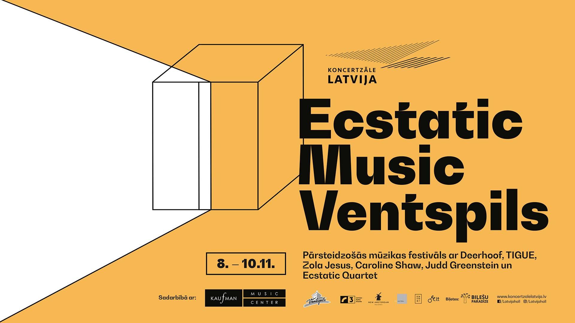 """Festivāls """"Ecstatic Music"""""""