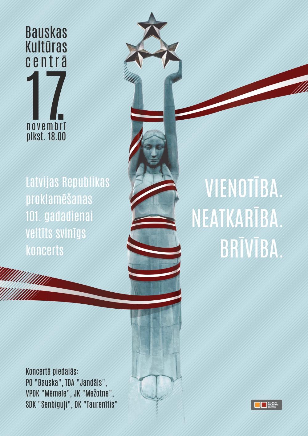 Svētku koncerts Bauskā