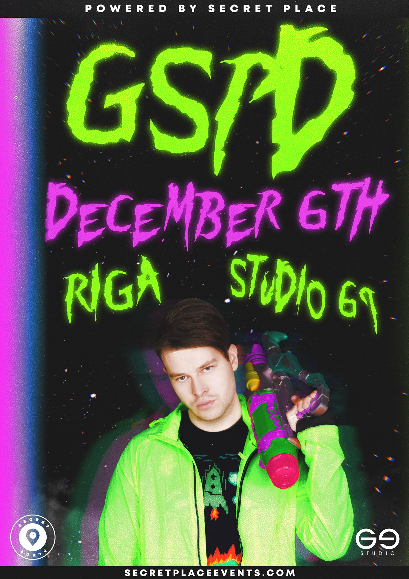 GSPD | 06.12 – Riga at Studio 69