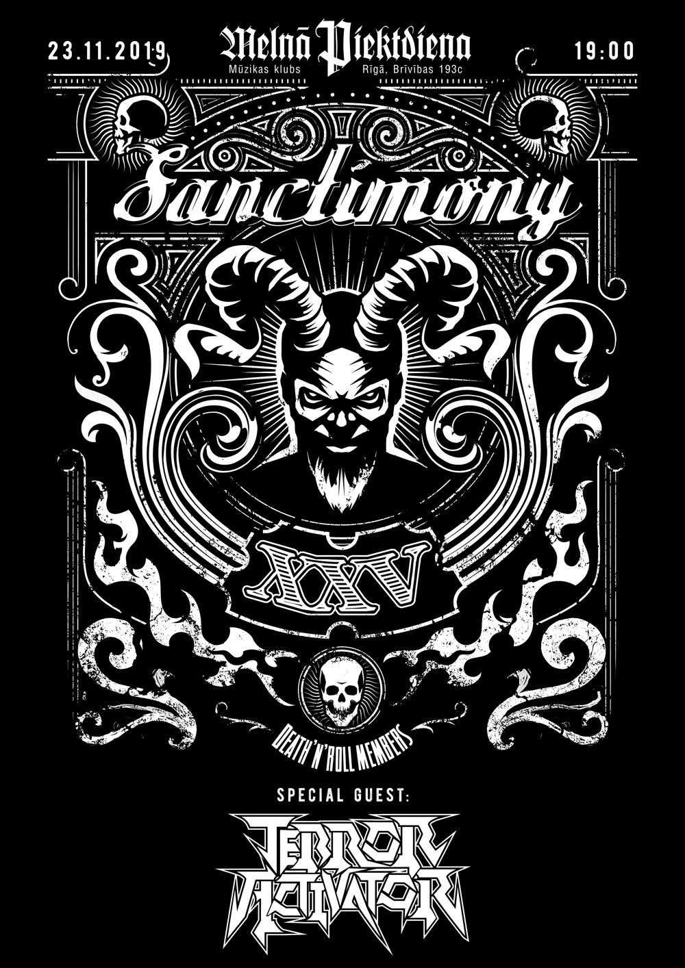 Sanctimony 25 gadu jubilejas koncerts