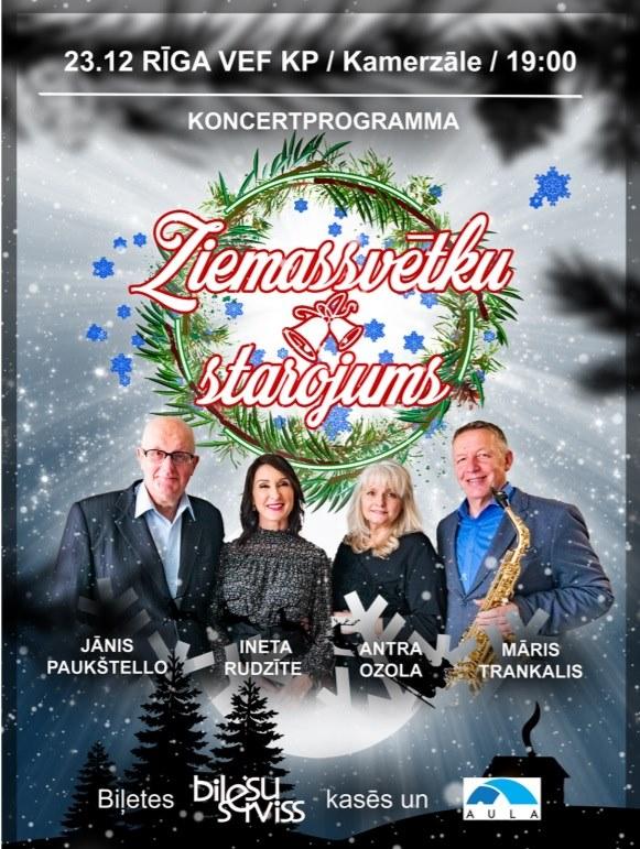 Ziemassvētku starojums – Rīga