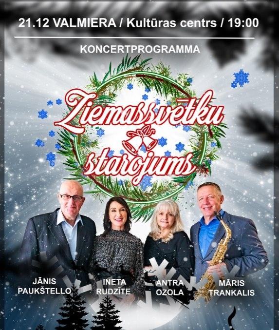 Ziemassvētku starojums – Valmiera
