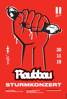 STURM invites Raubbau (Berlin)