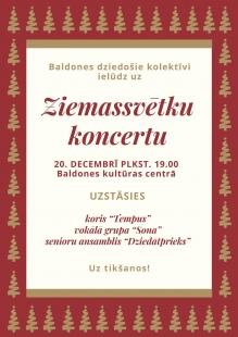 Ziemassvētku koncerts Baldonē