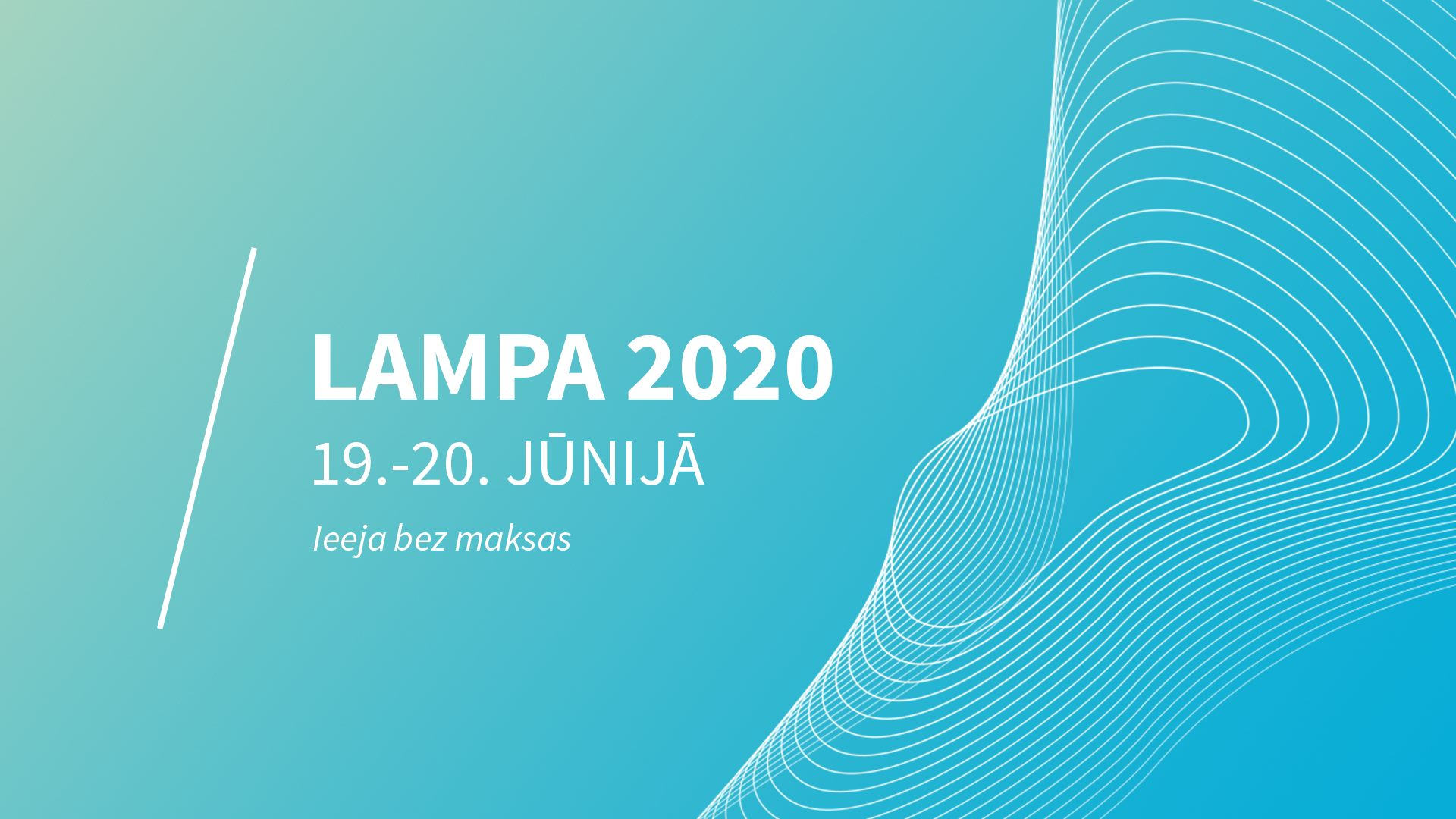Sarunu festivāls LAMPA 2020