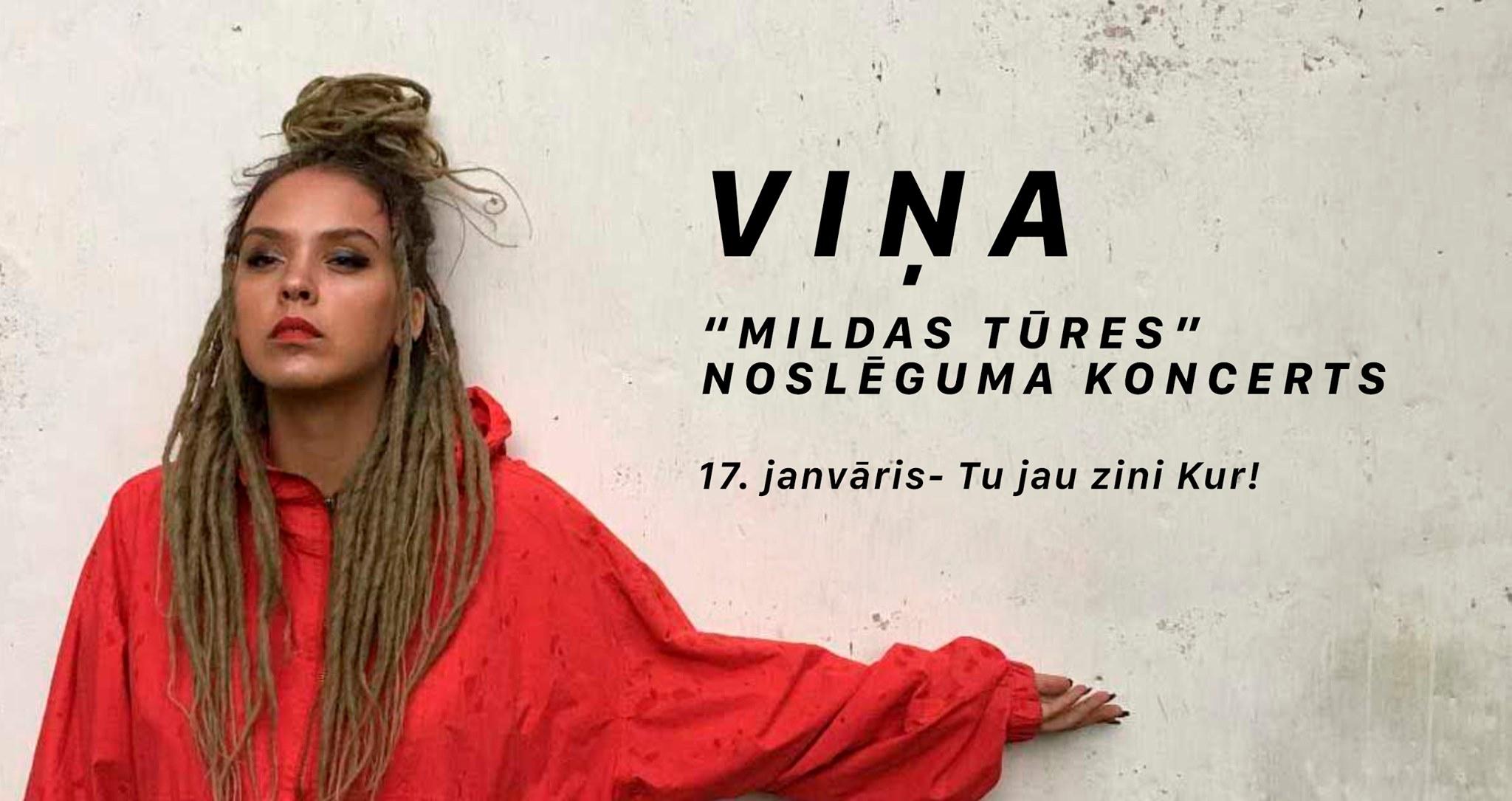 VIŅA – Mildas tūres noslēguma koncerts