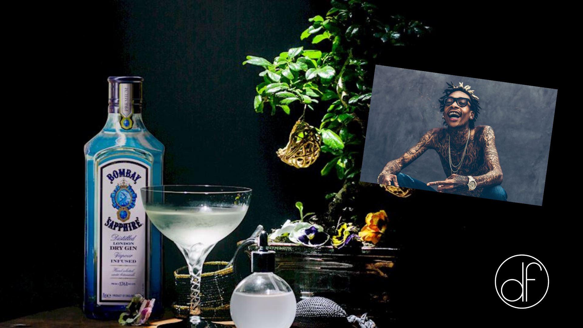 Wiz Khalifa & Bombay Gin