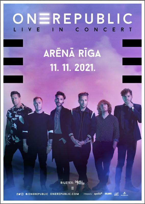 OneRepublic | Rīgā