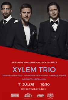 Xylem trio. Rāmie šovi* Kalnciema kvartālā