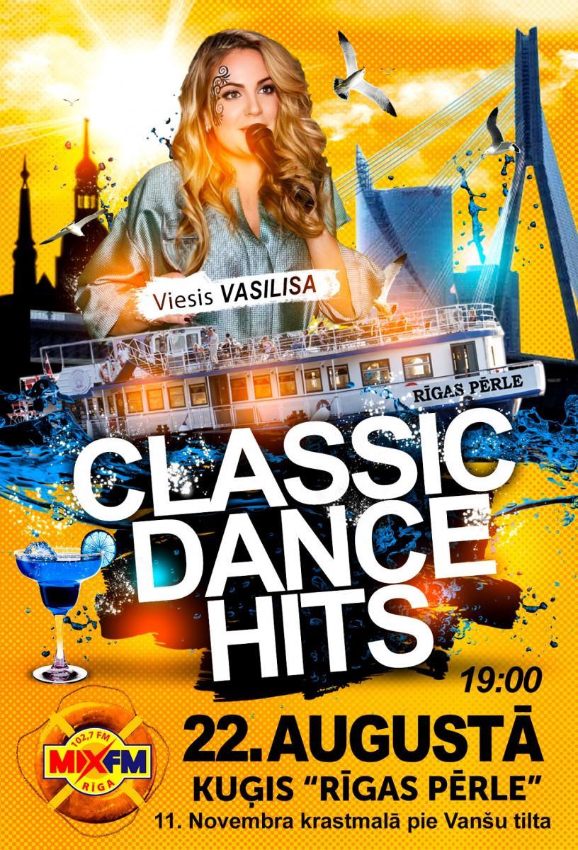 Radio MIX FM 102,7 deju mūzika uz 'Rīgas Pērle' klāja. Classic Dance Hits