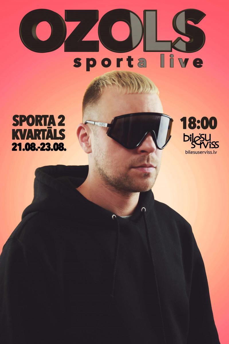 Ozols koncertā – Sporta live