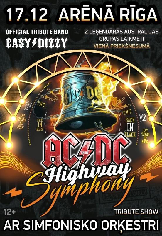 """AC/DC Tribute Show ar simfonisko orķestri """"Highway To Symphony"""""""