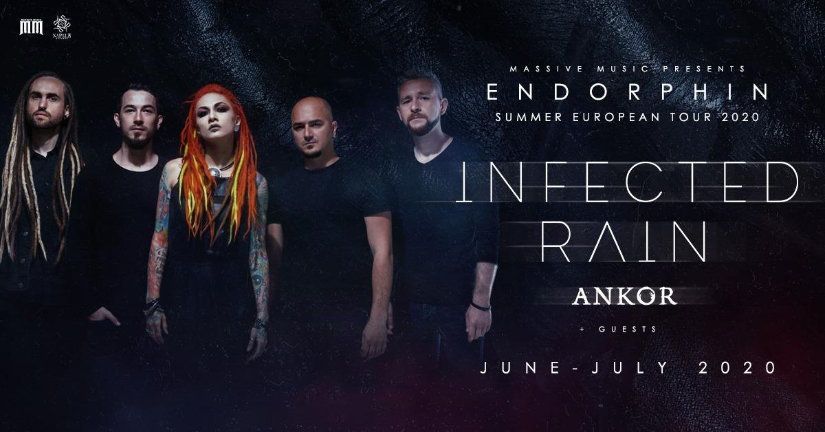 Infected Rain koncerts Rīgā