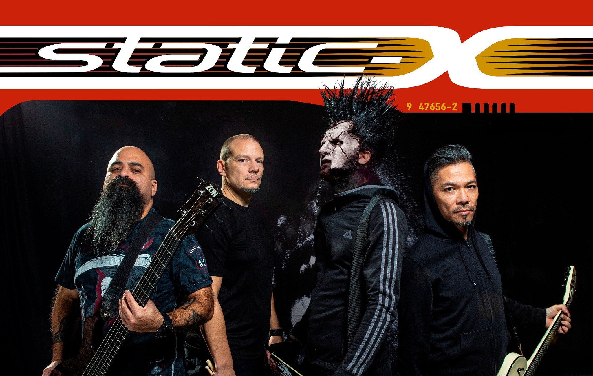 Static-X [USA] Dope [USA] Rīgā!