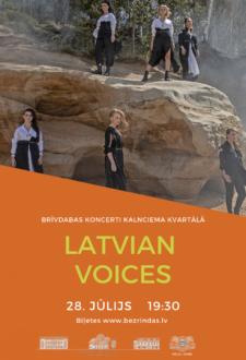 Latvian Voices. Rāmie šovi* Kalnciema kvartālā