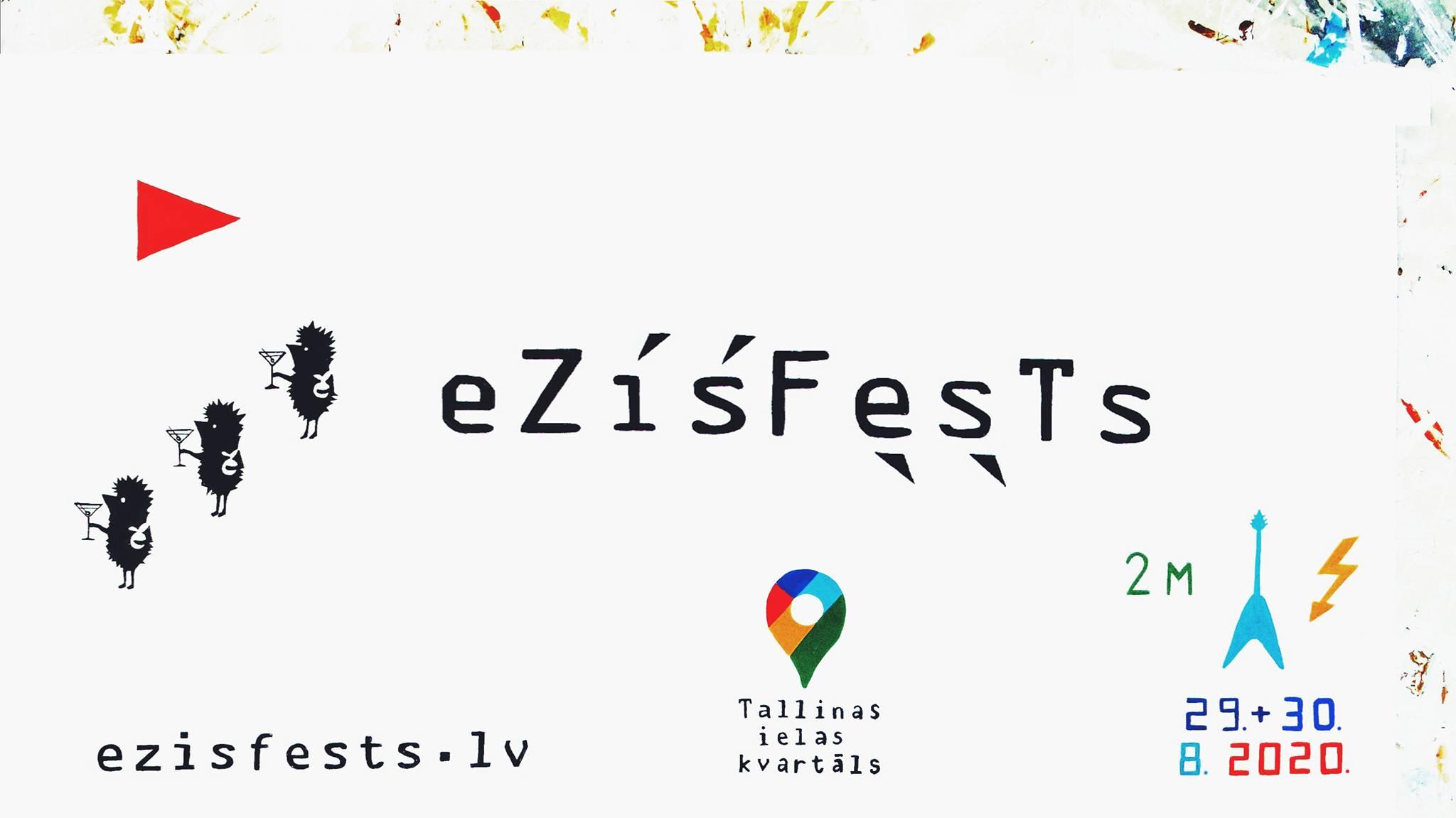 """Nedēļas nogalē Tallinas ielas kvartālā dārdēs pilsētas festivāls """"Ezīšfests"""""""