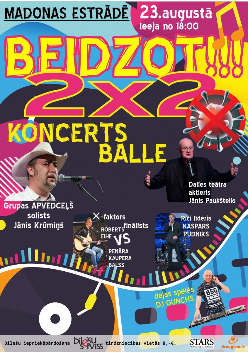 2×2 Koncerts / Balle