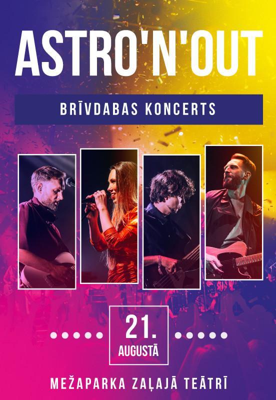 Astro'n'out Brīvdabas koncerts