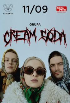 CREAM SODA Rīgā (Pārcelts no 25.07.20., 29.08.20. un 24.04.21.)